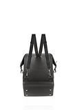 OPANCA BACKPACK IN BLACK WITH RHODIUM