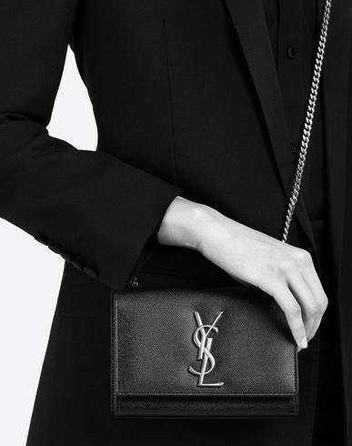 tags for handbags - SAINT LAURENT Classic Small Monogram Satchel In Old Rose Grain De ...