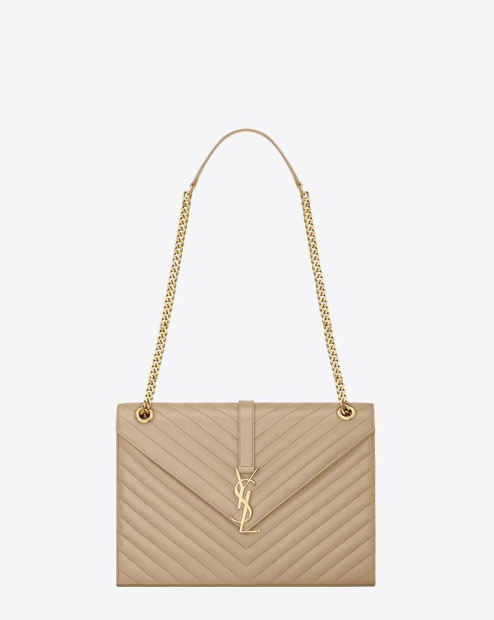 ysl shoulder bag red leather gold logo handbag tote