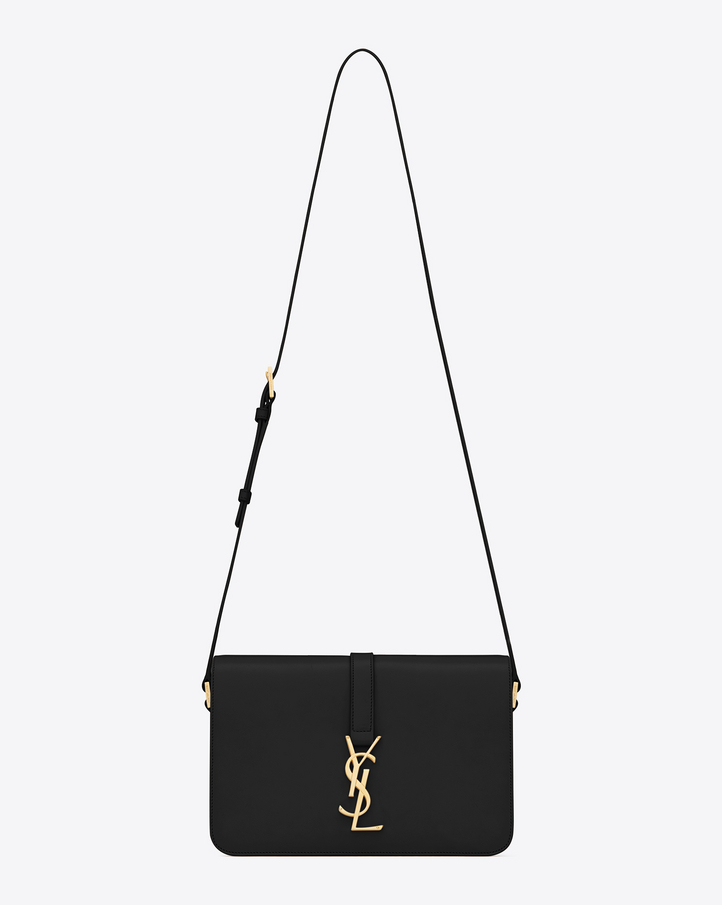 Saint Laurent Classic Medium Monogram Saint Laurent Universit�� Bag ...