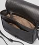 BOTTEGA VENETA Nero Intrecciato Nappa Messenger Bag Crossbody bag D dp