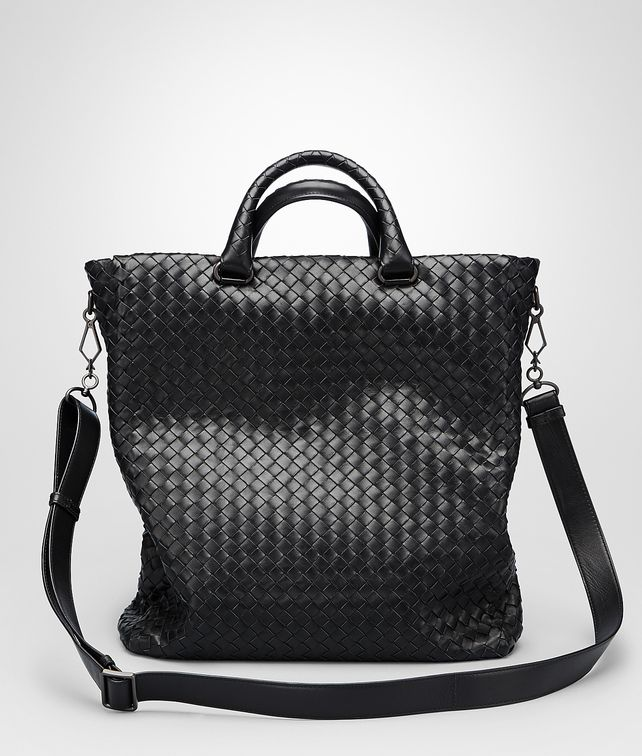 BOTTEGA VENETA Nero Intrecciato Light Calf Tote Bag Tote Bag U fp