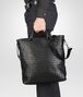 BOTTEGA VENETA SHOPPER NERA IN LIGHT CALF INTRECCIATO Borsa Shopping U ap