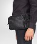 BOTTEGA VENETA CROSS BODY BAG IN NERO INTRECCIATO CALF Small bag U ap