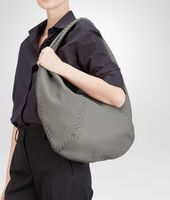BORSA NEW LIGHT GREY IN CERVO LAVATO