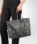 BOTTEGA VENETA LARGE TOTE BAG IN NEW LIGHT GREY INTRECCIOLUSION Tote Bag D ap
