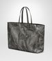 BOTTEGA VENETA LARGE TOTE BAG IN NEW LIGHT GREY INTRECCIOLUSION Tote Bag D rp
