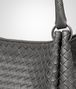 BOTTEGA VENETA PARACHUTE BAG IN NEW LIGHT GREY INTRECCIATO NAPPA Shoulder or hobo bag D ep