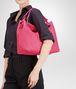 BOTTEGA VENETA Rosa Shock Intrecciato Nappa Bag Shoulder or hobo bag D ap