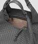 BOTTEGA VENETA LARGE CAMPANA BAG IN NEW LIGHT GREY INTRECCIATO NAPPA Shoulder or hobo bag D dp