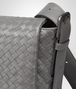 BOTTEGA VENETA New Light Grey Intrecciato Light Calf Cross Body Messenger Messenger Bag U ep