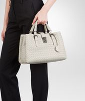 Mist Intrecciato Light Calf Roma Bag