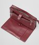 BOTTEGA VENETA Aubergine Intrecciato Light Calf Continental Wallet Small bag U ap