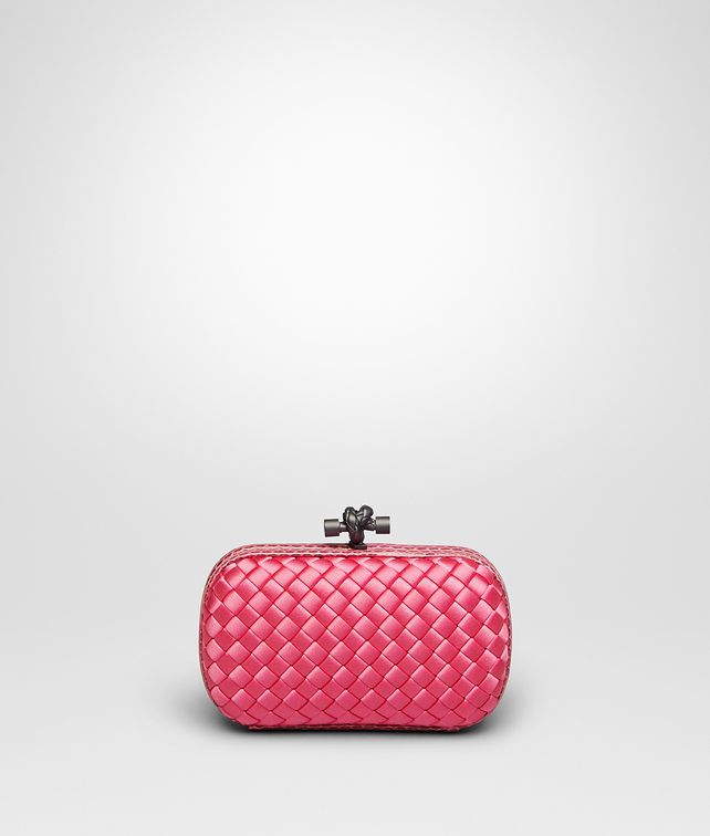 KNOT CLUTCH IN ROSA SHOCK INTRECCIO IMPERO, AYERS DETAILS
