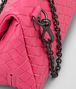 BOTTEGA VENETA ROSA SHOCK INTRECCIATO NAPPA MESSENGER BAG Crossbody bag D ep