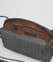 BOTTEGA VENETA MESSENGER BAG IN NEW LIGHT GREY INTRECCIATO NAPPA Crossbody bag D dp