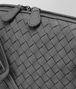 BOTTEGA VENETA MESSENGER BAG IN NEW LIGHT GREY INTRECCIATO NAPPA Crossbody bag D ep