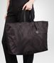 BOTTEGA VENETA MAXI SHOPPER NEW DARK GREY IN INTRECCIOLUSION Borsa Shopping D ap