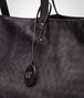 BOTTEGA VENETA MAXI SHOPPER NEW DARK GREY IN INTRECCIOLUSION Borsa Shopping D ep