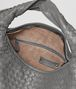 BOTTEGA VENETA New Light Grey Intrecciato Nappa Large Veneta Shoulder or hobo bag D dp