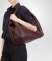 BOTTEGA VENETA Aubergine Intrecciato Nappa Campana Bag Shoulder or hobo bag D ap