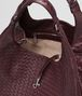 BOTTEGA VENETA AUBERGINE INTRECCIATO NAPPA CAMPANA BAG Shoulder or hobo bag D dp