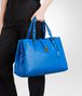 BOTTEGA VENETA BORSA ROMA SIGNAL BLUE IN LIGHT CALF INTRECCIATO Borsa a Mano D ap