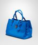 BOTTEGA VENETA SIGNAL BLUE Intrecciato Light Calf ROMA BAG Top Handle Bag D rp