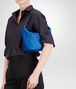 BOTTEGA VENETA Signal Blue Intrecciato Nappa Bag Shoulder or hobo bag D lp