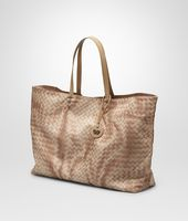 SHOPPER MIT INTRECCIOLUSION SAND
