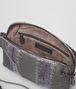 BOTTEGA VENETA MESSENGER BAG IN NEW LIGHT GREY NAPPA AND AYERS Crossbody bag D dp