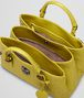 BOTTEGA VENETA NEW CHARTREUSE Intrecciato Light Calf ROMA BAG Top Handle Bag D dp