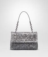 New Light Grey Intreccio Tobu Ayers Olimpia Bag