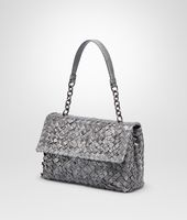BORSA OLIMPIA NEW LIGHT GREY IN AYERS INTRECCIO TOBU