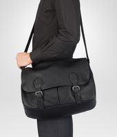 GARDENA BAG IN NERO BUFALO
