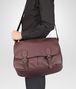 BOTTEGA VENETA Aubergine Nero Buffalo Leather Metal Gardena Bag Messenger Bag U ap
