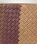 BOTTEGA VENETA New Bronze Aubergine Edoardo Intrecciato Club Fumé Document Case Small bag U ep