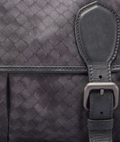 BORSA GARDENA NEW DARK GREY IN INTRECCIOLUSION