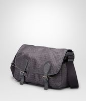 New Dark Grey Intrecciolusion Gardena Bag