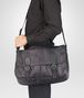 BOTTEGA VENETA New Dark Grey Intrecciolusion Gardena Bag Messenger Bag U ap