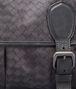 BOTTEGA VENETA New Dark Grey Intrecciolusion Gardena Bag Messenger Bag U ep