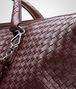 BOTTEGA VENETA AUBERGINE INTRECCIATO NAPPA CONVERTIBLE BAG Top Handle Bag D ep