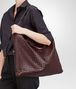 BOTTEGA VENETA Aubergine Intrecciato Nappa Convertible Bag Top Handle Bag D lp