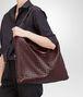 BOTTEGA VENETA AUBERGINE INTRECCIATO NAPPA CONVERTIBLE BAG Top Handle Bag D lp