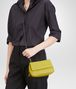 BOTTEGA VENETA New Chartreuse Intrecciato Nappa Messenger Bag Crossbody bag D ap