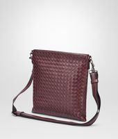 Aubergine Nero Intrecciato Vn Cross Body Messenger