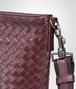 BOTTEGA VENETA Aubergine Nero Intrecciato Vn Cross Body Messenger Messenger Bag U ep