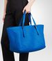 BOTTEGA VENETA SHOPPER SIGNAL BLUE IN NAPPA INTRECCIATA Borsa Shopping D ap