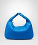 BOTTEGA VENETA Signal Blue Intrecciato Nappa Veneta Shoulder or hobo bag D fp