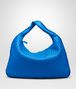 BOTTEGA VENETA SIGNAL BLUE INTRECCIATO NAPPA Large Veneta Shoulder or hobo bag D fp